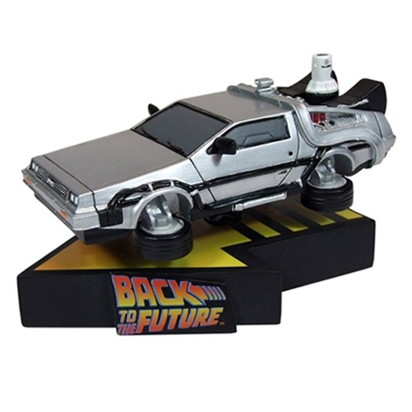 Factory Entertainment Back to the Future II Flying Delorean Shakems Bobble Figure