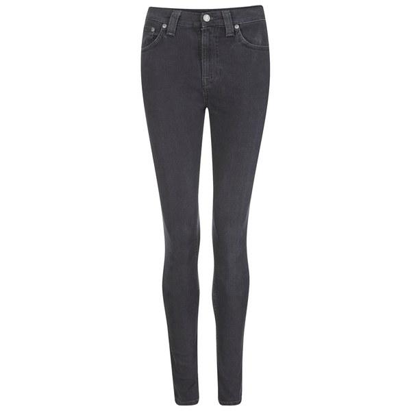 Nudie Jeans Women's Pipe Led Denim Jeans - Monolith