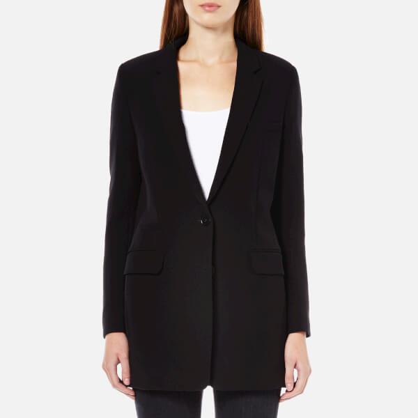 Helmut Lang Women's Pocket Detail Blazer - Black