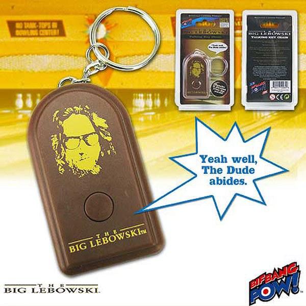 The Big Lebowki Talking Key Chain