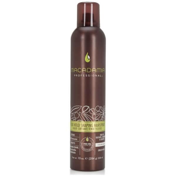 Macadamia Flex Hold Shaping Hairspray 10 (328ml)