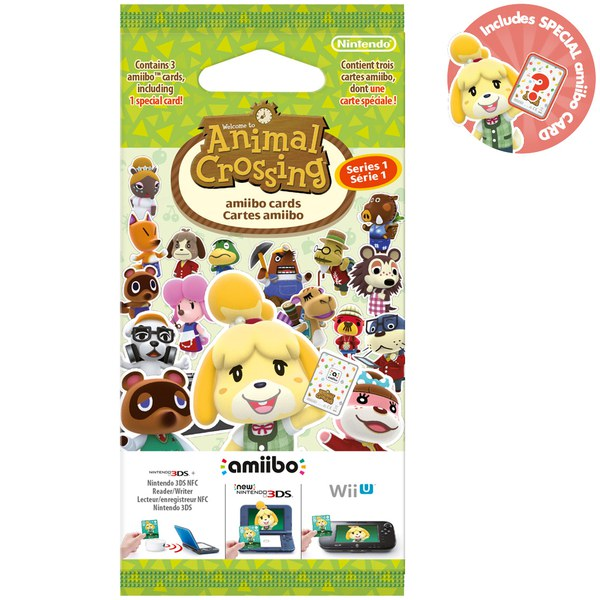 Card Series Animal Crossing Animal Crossing Amiibo Cards