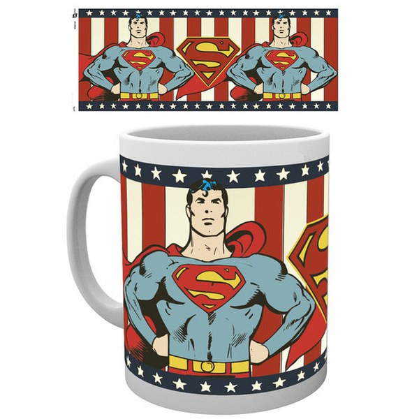 DC Comics Superman Vintage - Mug