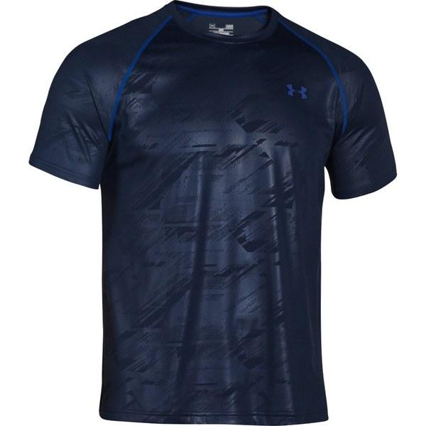 Under Armour Men 39 S Tech Patterned Short Sleeve T Shirt