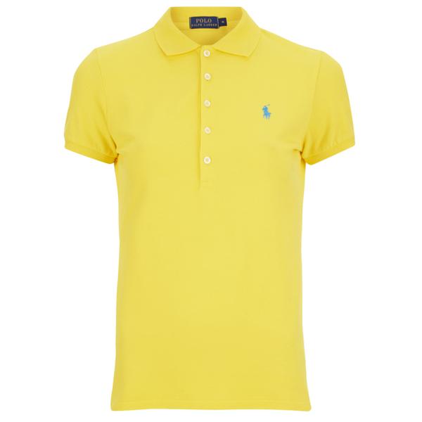 Polo Ralph Lauren Women S Julie Polo Shirt Active Yellow