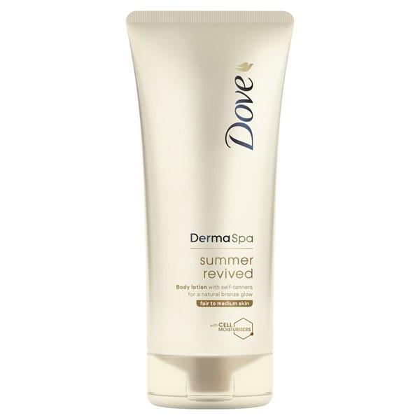 Dove DermaSpa Summer Revived Body Lotion Fair to Medium Skin (200ml)