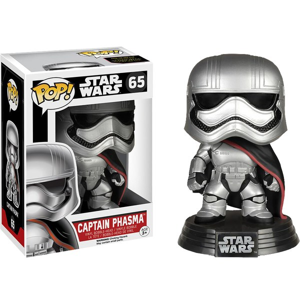 Star Wars The Force Awakens Captain Phasma  Pop! Vinyl Figure