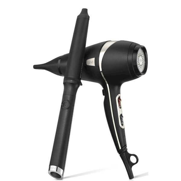 ghd Arctic Gold Deluxe Air Dryer and Wand Set