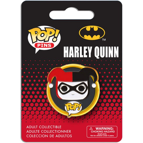 DC Comics Batman Harley Quinn Pop! Pin