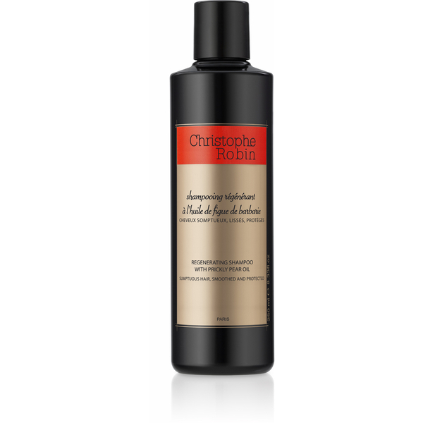 christophe robin regenerating shampoo with prickly pear oil 250ml free delivery. Black Bedroom Furniture Sets. Home Design Ideas