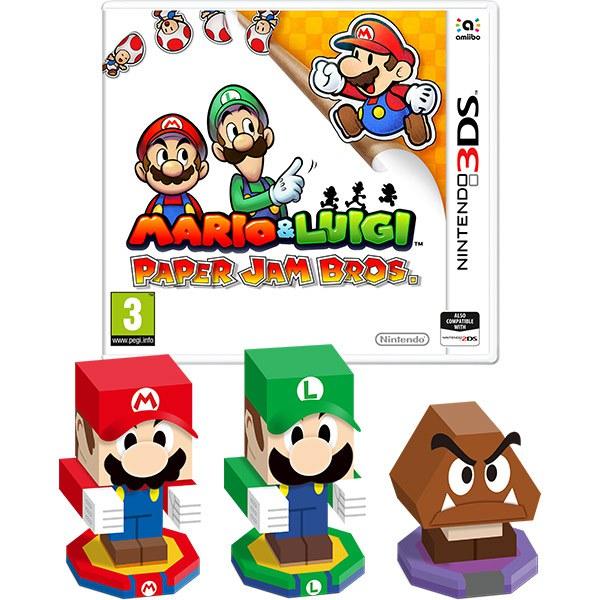 Mario Luigi Paper Jam Bros Page 3 Nintendo Gaming N