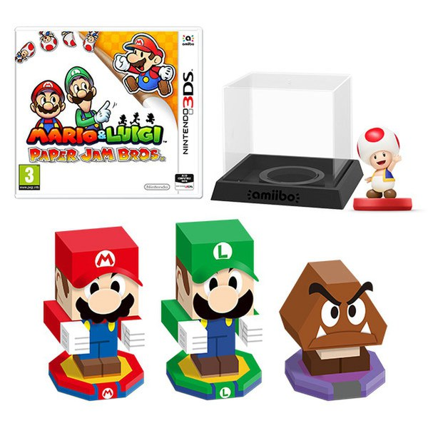 And Mario Jam Luigi Paper Amiibo