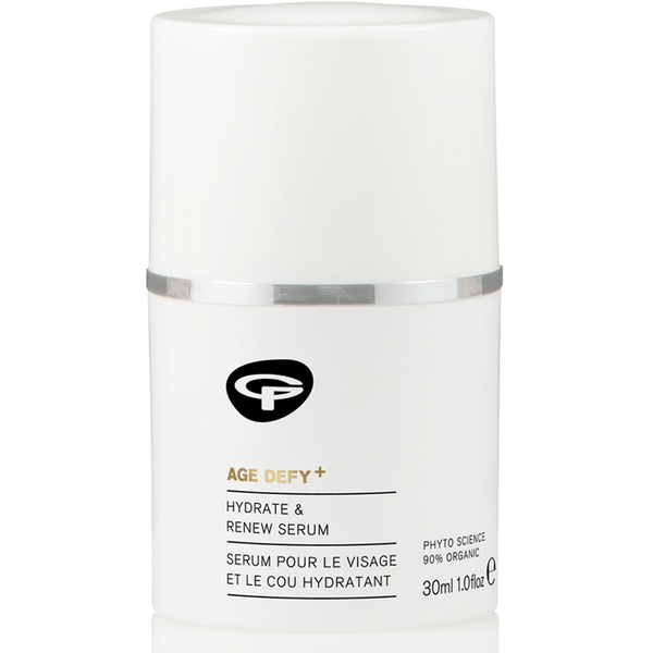Green People Age Defy+ Hydrate & Renew Face and Neck Serum (30 ml)