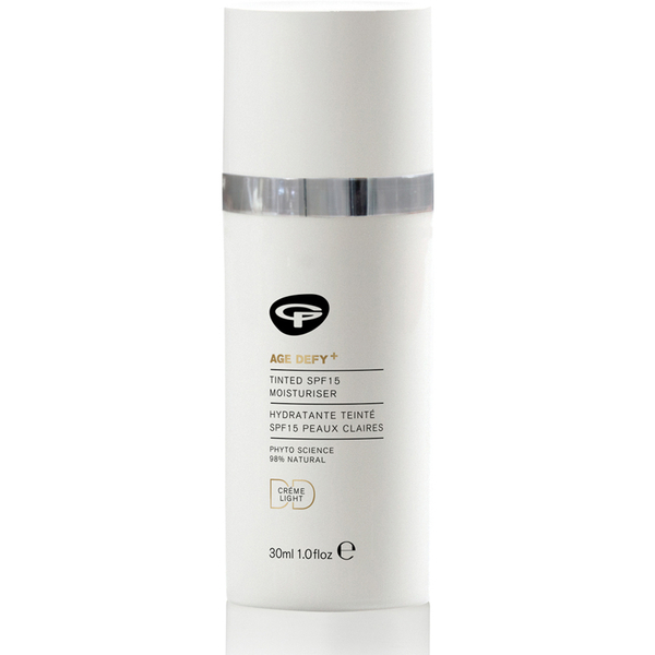 Green People Age Defy+着色DD Moisturiser SPF15 - Light(30ml)