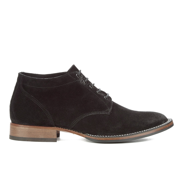 Belstaff Belstaff Men's Stockwell Suede Lace Up Boots - Black - UK 7