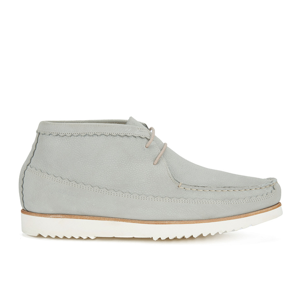 Genuine Moccasins by Grenson Genuine Moccasins by Grenson Men's Suede Chukka Boots - Light Grey - UK 11