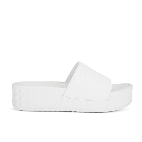 Ash Women's Scream Flatform Slide Sandals - White