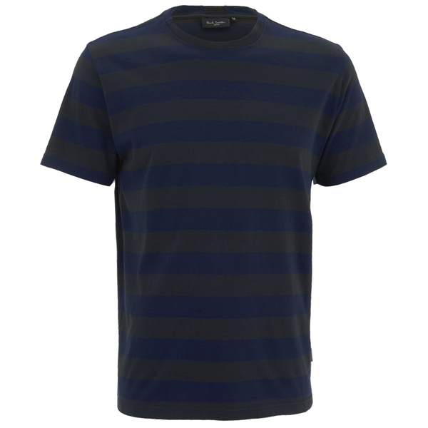 Paul Smith Jeans Men's Stripe Jersey T-Shirt - Navy