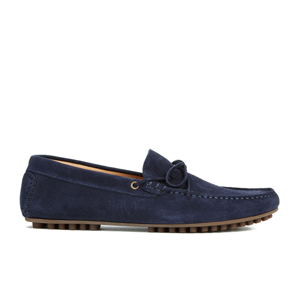 H Shoes by Hudson H Shoes by Hudson Men's Felipe Suede Driving Shoes - Navy - UK 9