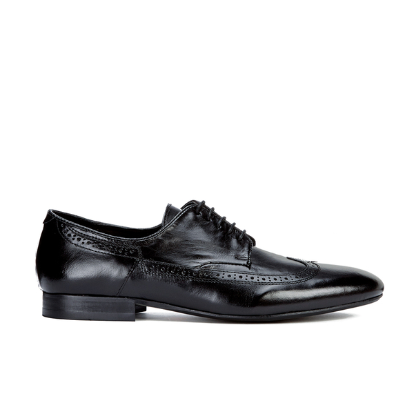 H Shoes by Hudson H Shoes by Hudson Men's Olave Leather Derby Shoes - Black - UK 8