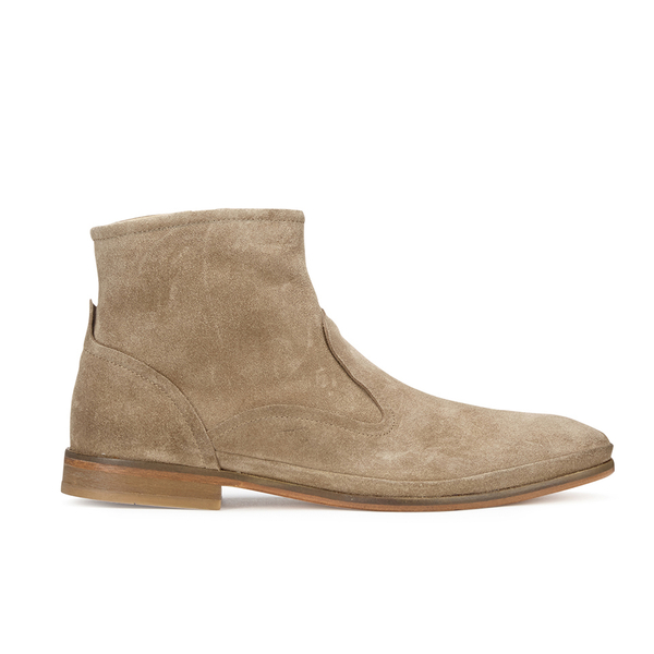 H Shoes by Hudson H Shoes by Hudson Men's Howlett Suede Boots - Beige - UK 7