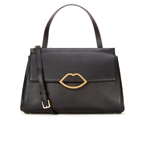 Lulu Guinness Women's Gertie Large Tote Bag - Black