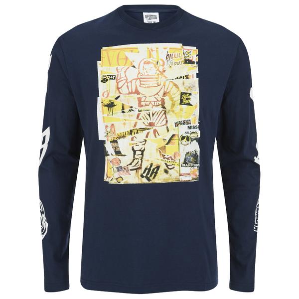 Billionaire Boys Club Men's Astro Poster Long Sleeve T-Shirt - Navy Blazer