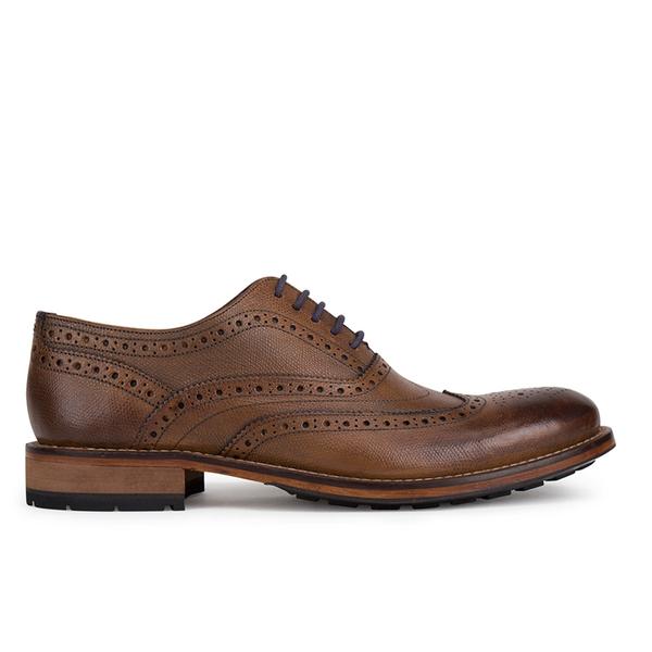 Ted Baker Men's Guri 8 Leather Brogues - Tan