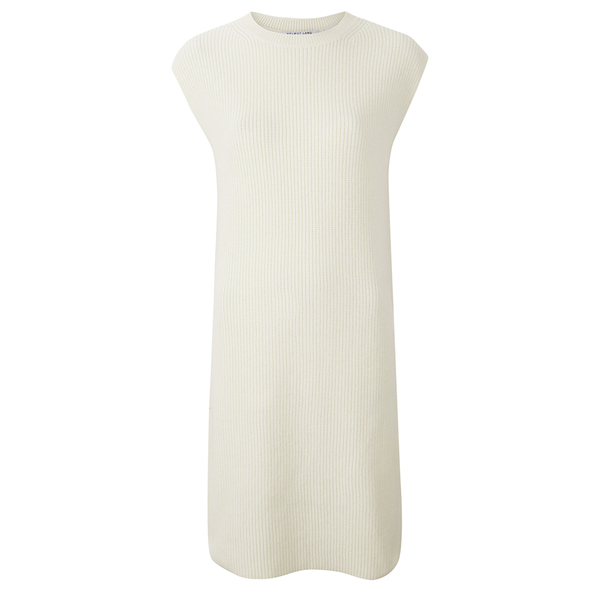 Helmut Lang Women's Cashwool Tunic Dress - Pearl