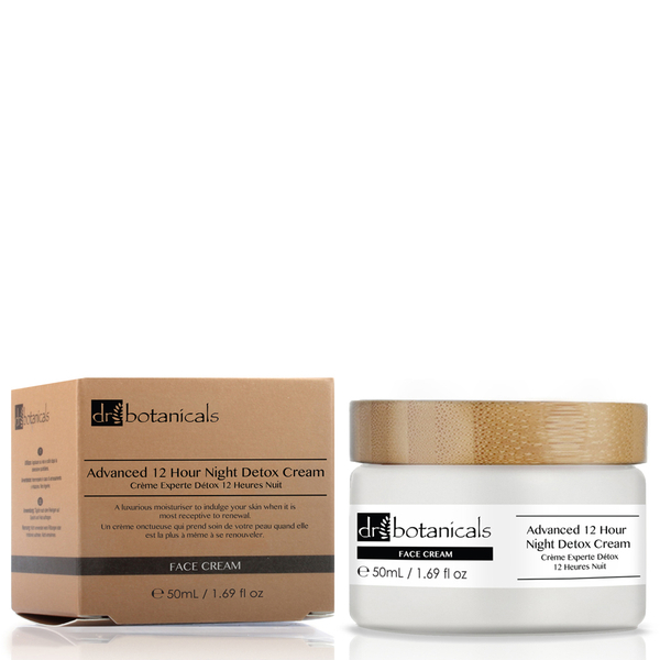 Dr Botanicals Advanced 12 Hour Night Detox Cream (50ml)