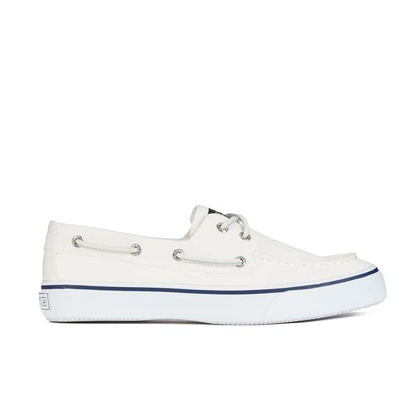 Sperry Sperry Men's Bahama 2 Eye Boat Shoes - White - UK 11