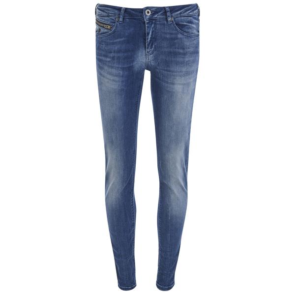 Maison Scotch Women's La Bohemienne Plus Jeans in Moonscape - Blue