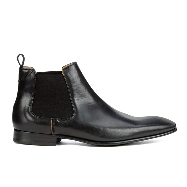 Paul Smith Shoes Paul Smith Shoes Men's Falconer Leather Chelsea Boots - Black Oxford - UK 8