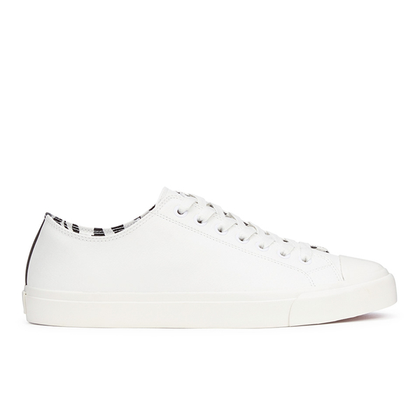 Paul Smith Shoes Paul Smith Shoes Men's Indie Vulcanised Trainers - White Mono - UK 11