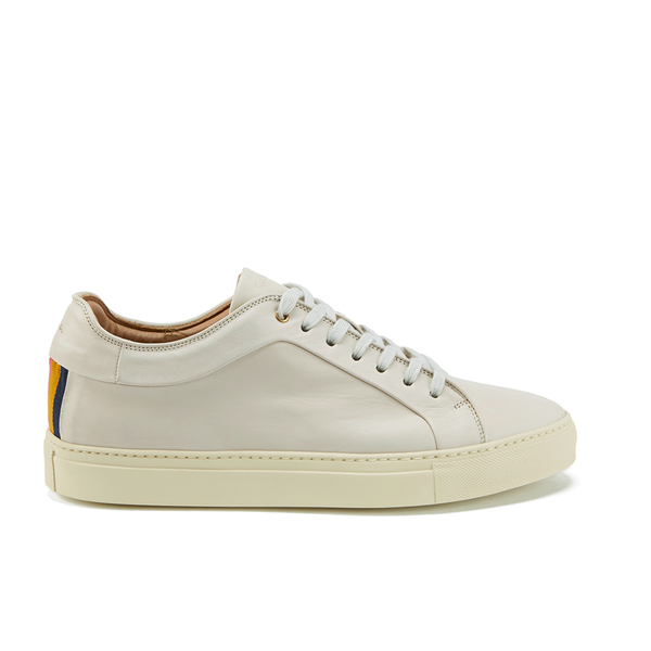 Paul Smith Shoes Paul Smith Shoes Men's Nastro Leather Cupsole Trainers - Quiet White - UK 8