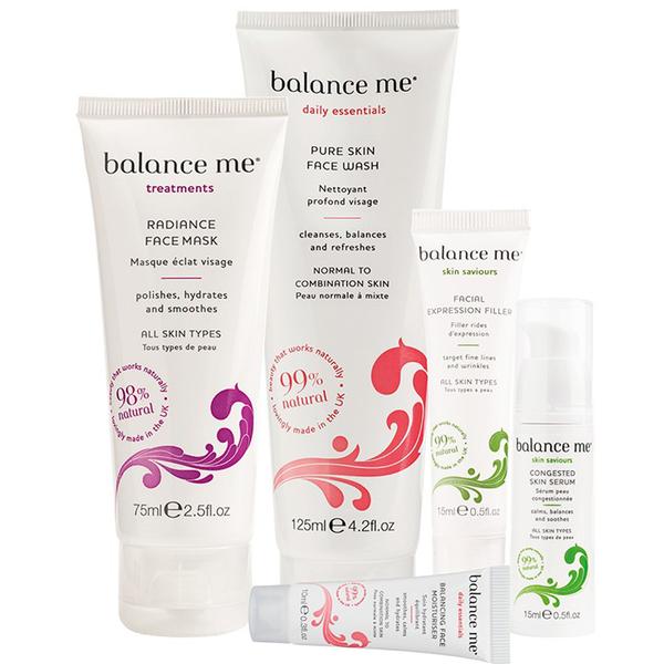 Balance Me Deluxe Clearer Skin Kit (Im Wert von71 GBP)