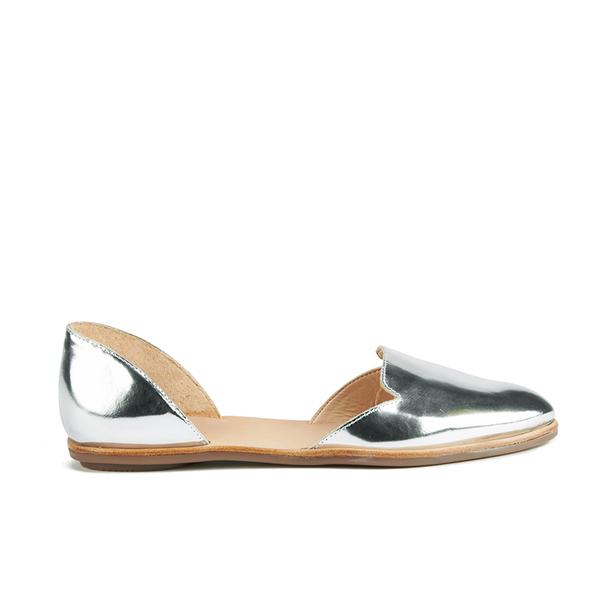 Loeffler Randall Loeffler Randall Women's Prue Pointed Flats - Silver - US 6/UK 3