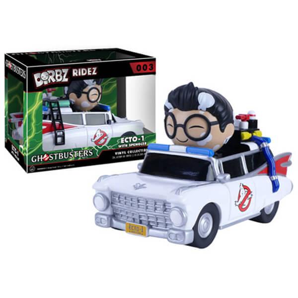 Ghostbusters Dr. Egon Spengler with Ecto-1 Dorbz Vinyl Figure