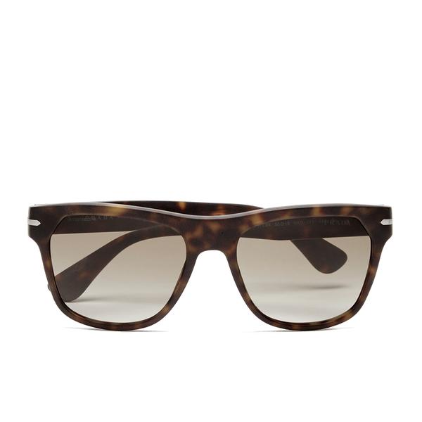 Prada Men's Conceptual Arrow Sunglasses - Matte Havana