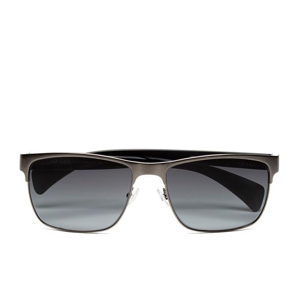 Prada Men's Conceptual Metal Sunglasses - Antique Brushed Gunmetal