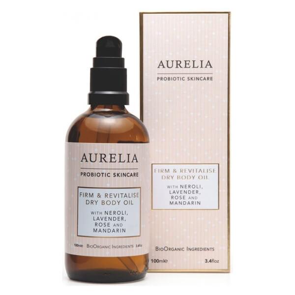 Aurelia Probiotic Skincare Huile Corps Sèche Raffermissante et Revitalisante 100ml