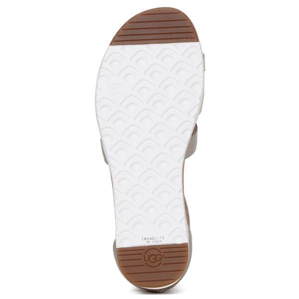 Ugg Women S Zina Gladiator Sandals Gray Gold Womens