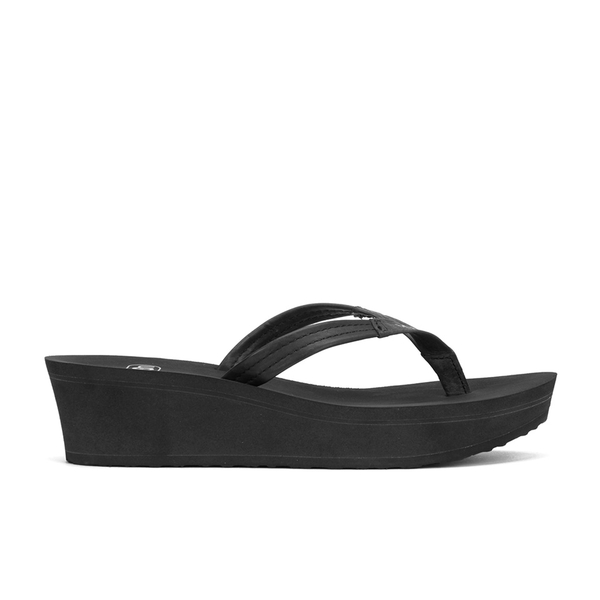 UGG Women's Ruby Wedged Sandals - Black