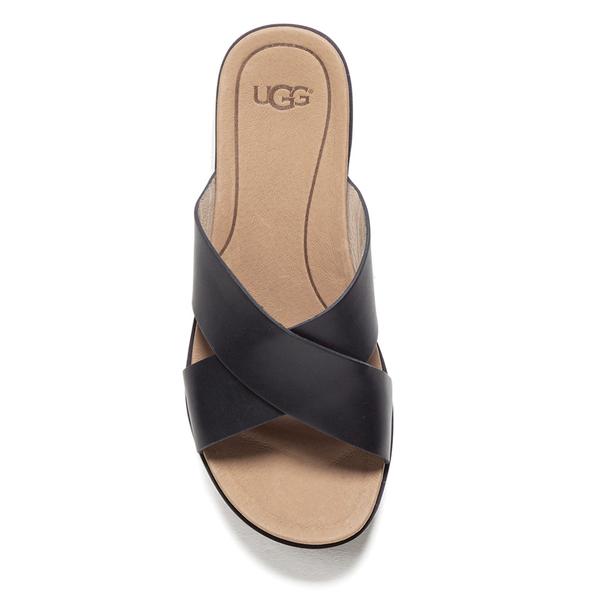 Ugg Women S Kari Slide Sandals Black Free Uk Delivery