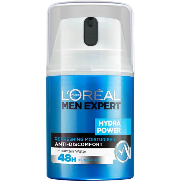 L'Oréal Paris Men Expert Hydra Power Refreshing Moisturiser (50ml)