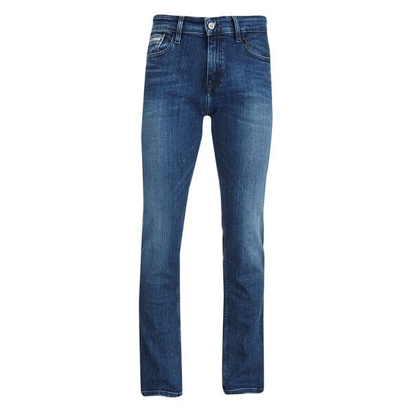Calvin Klein Men's Slim Straight Denim Jeans - Structured Light