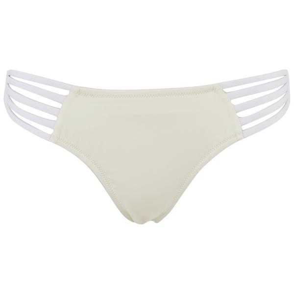 Paolita Women's Solid Golden Hind Bikini Bottoms - Cream