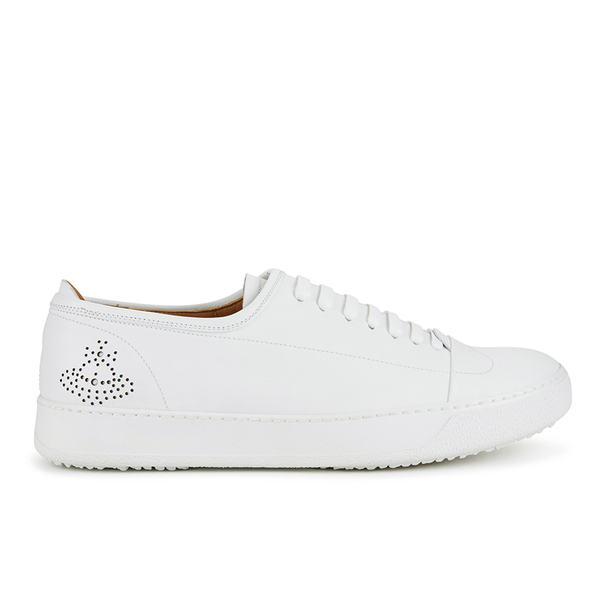 Vivienne Westwood MAN Vivienne Westwood MAN Men's Leather Oxford Trainers - White - UK 7
