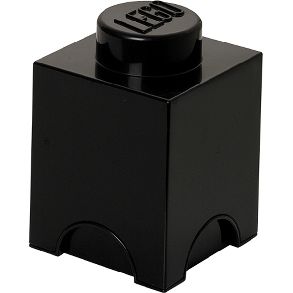 LEGO Storage Brick 1 - Black
