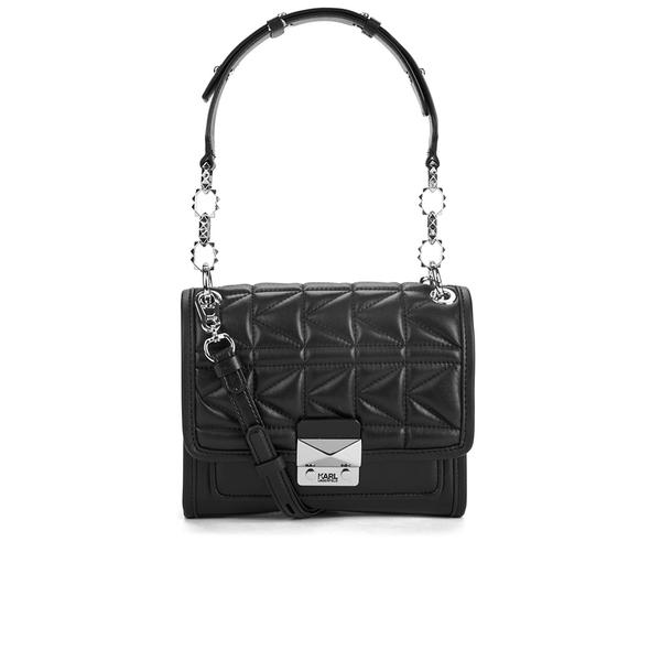 Karl Lagerfeld Women's K/Kuilted Mini Handbag - Black
